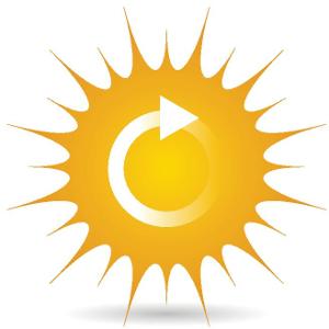 Ikona słońca